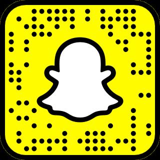 brandonstellwag Snapchat QR Code Snapcode