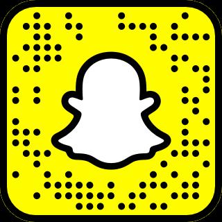 teaews Snapchat QR Code Snapcode